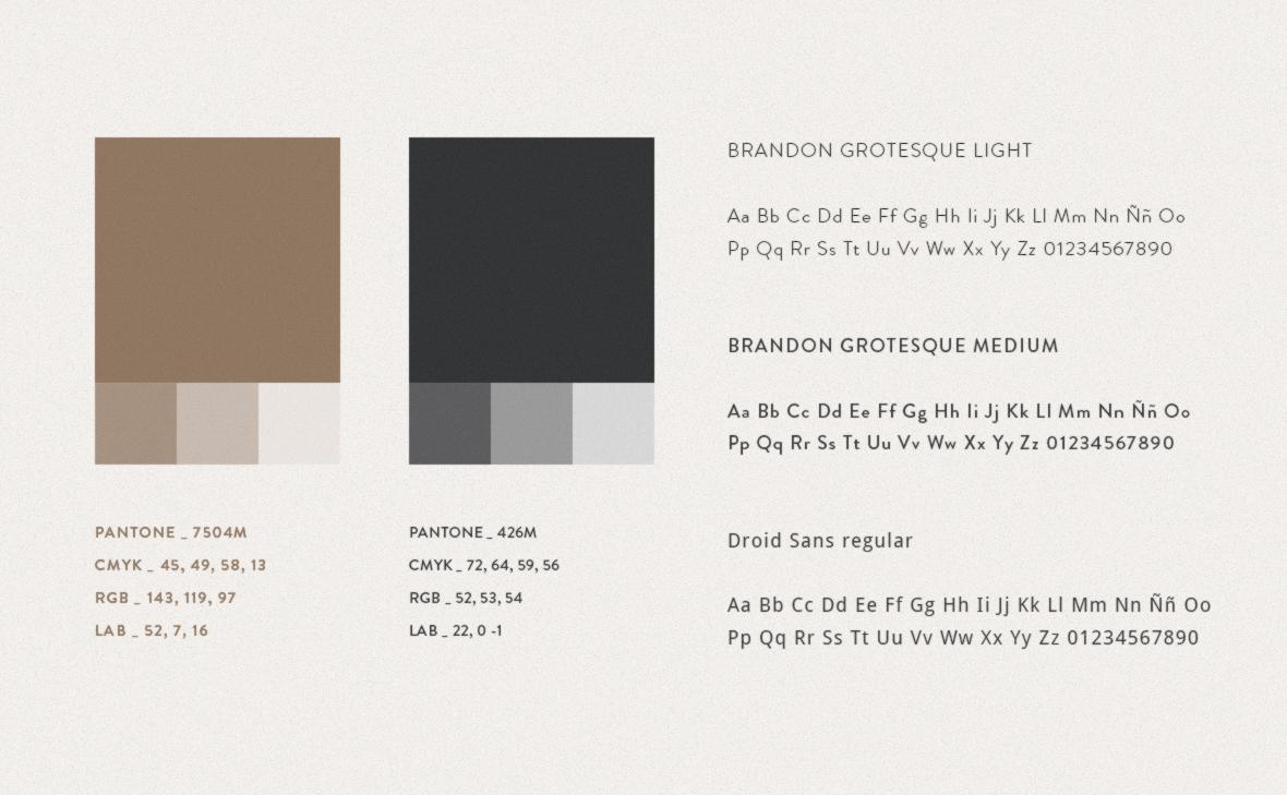 Antonio Tomas Esquema color tipografía