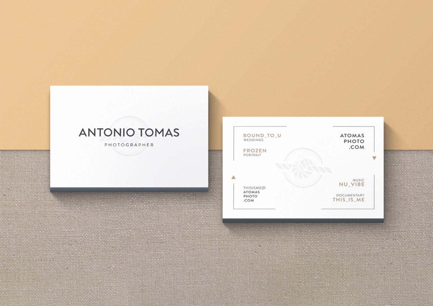 Antonio Tomas tarjeta 2