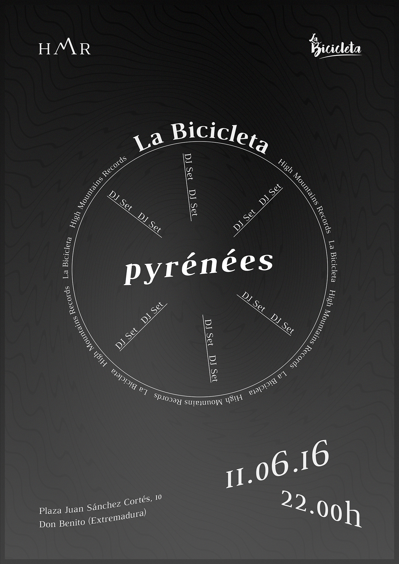 Cartel La bici altern