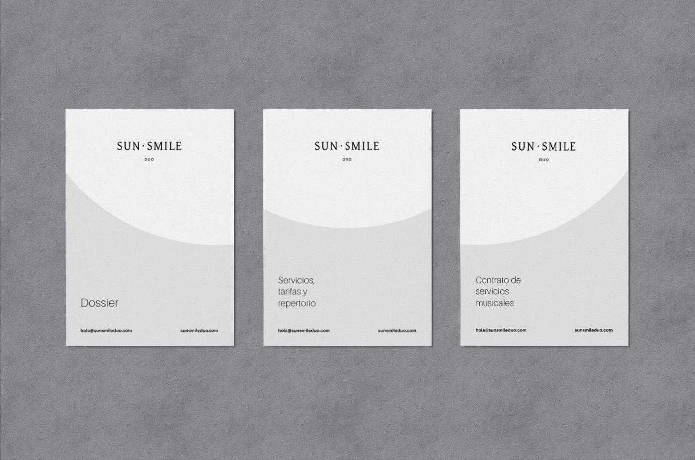 Sun Smile Diseño gráfico dossier