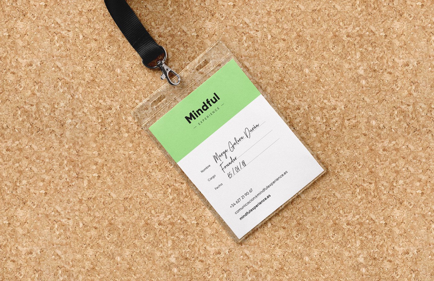 Mindful Experience Identity Branding Card ID