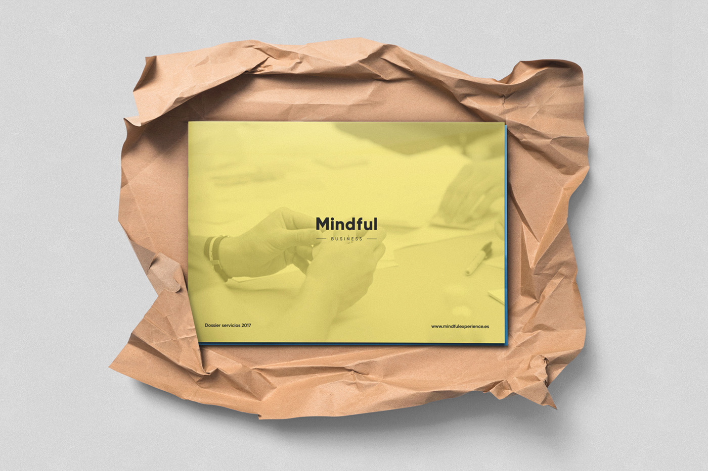 Mindful diseño dossieres branding 2