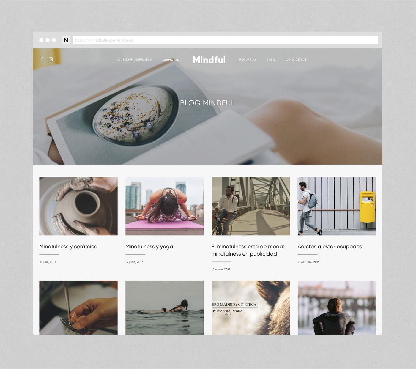 Mindful web design Blog