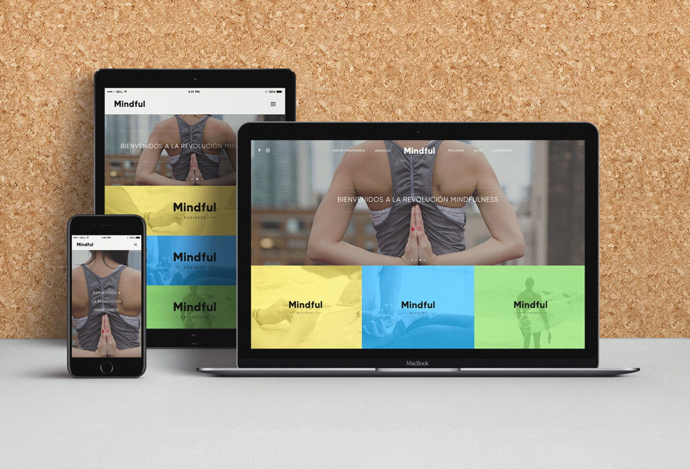 Mindful web design responsive