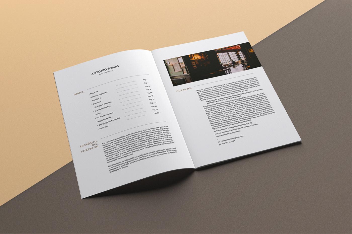 Antonio Tomas stylebook 1