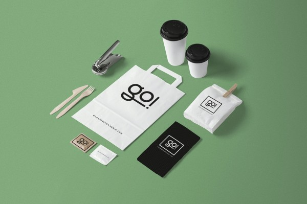 Go Catering Stationery Design