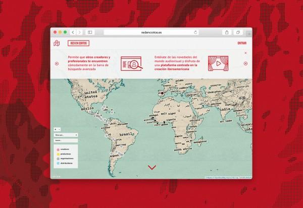Red en cortos ux design home