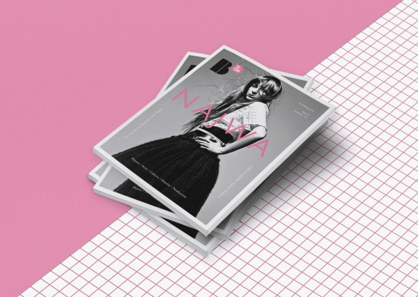 B-side Magazine cover design