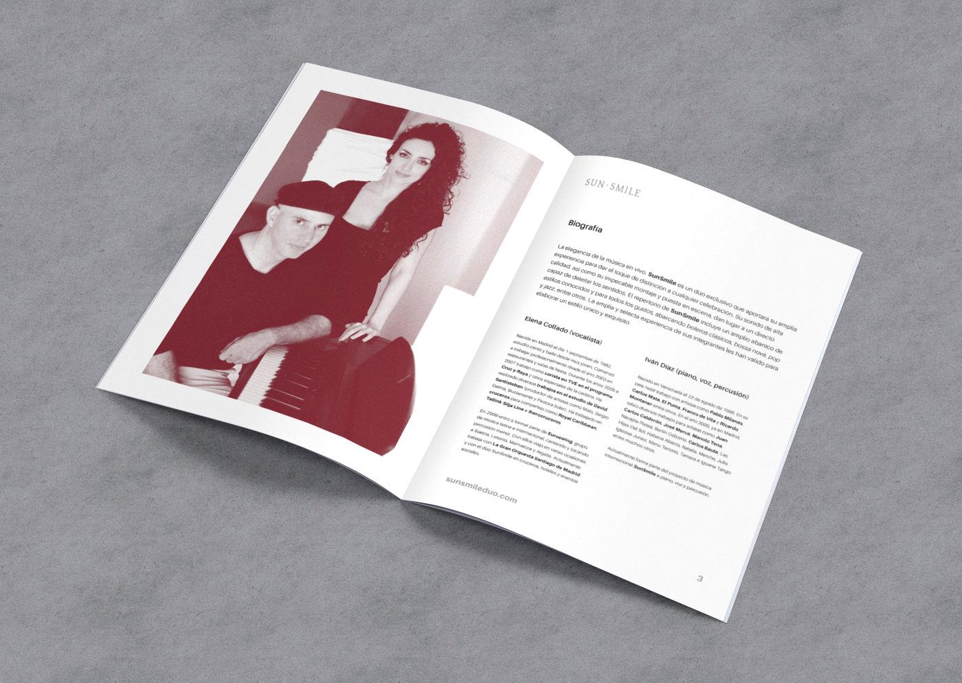 SunSmile Dossier Design Editorial