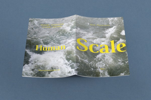 Human Scale editorial design 1