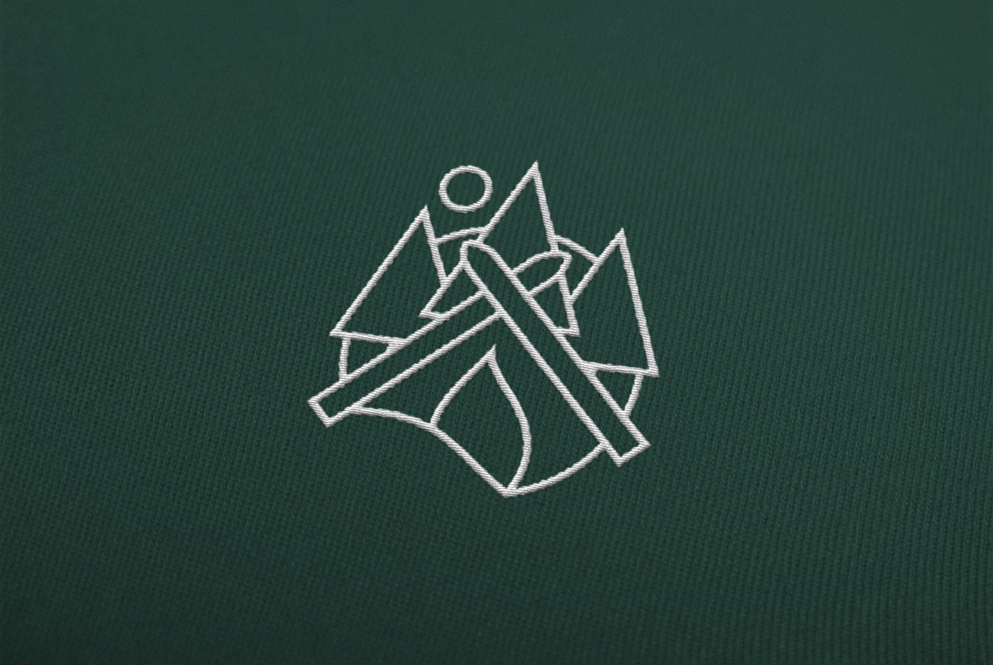 Le Cosy Bar Branding Embroidered logo