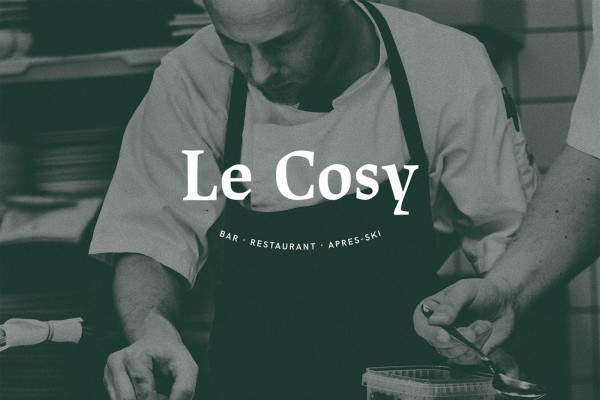 Le Cosy Bar Corporate Identity Logo