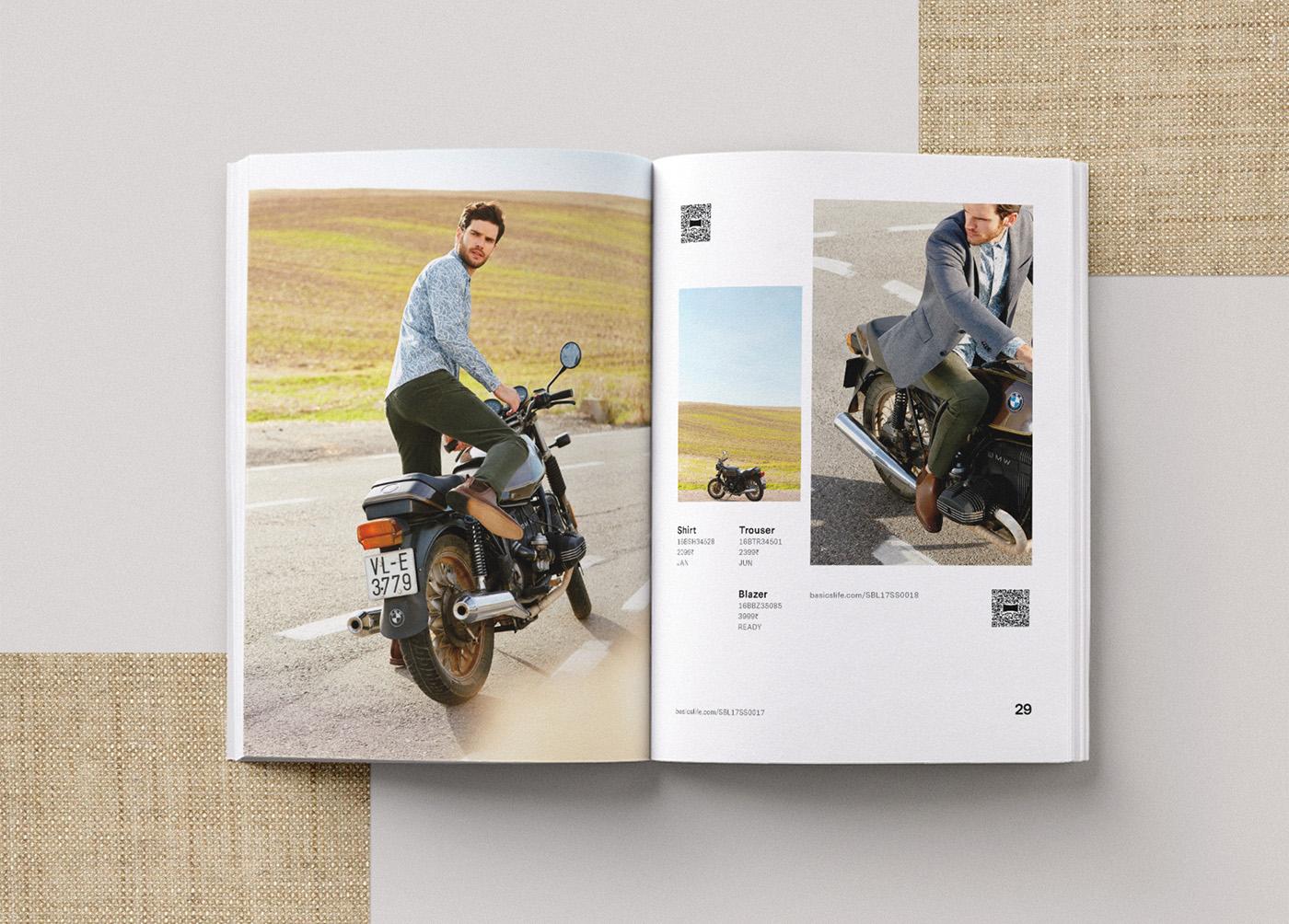 Basics spring catalog editorial design 3