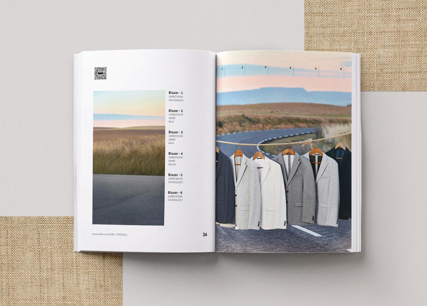 Basics spring catalog editorial design 5