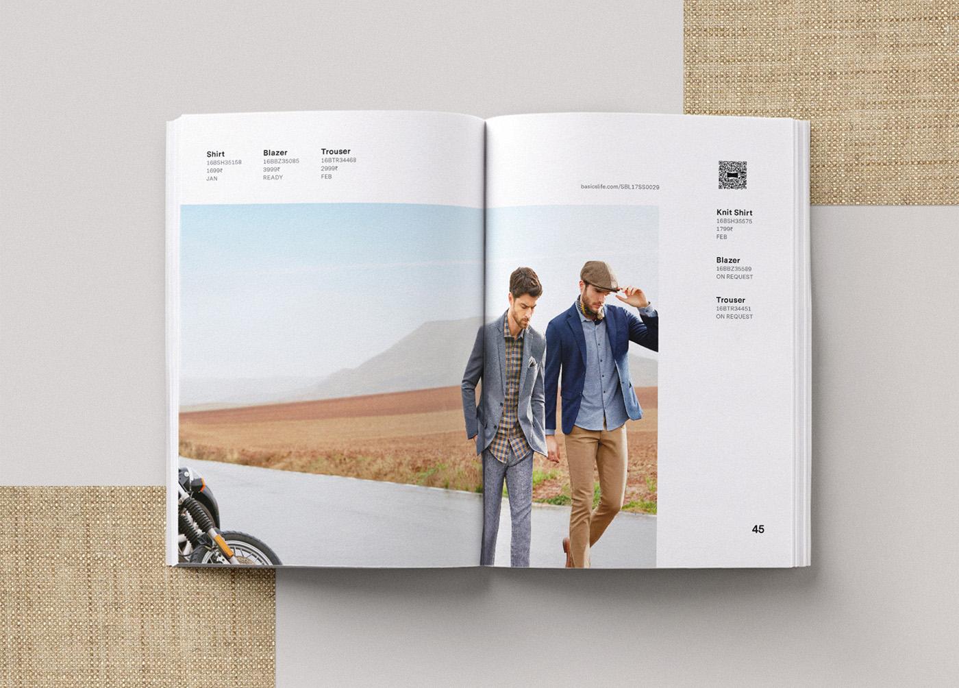 Basics spring catalog editorial design 6