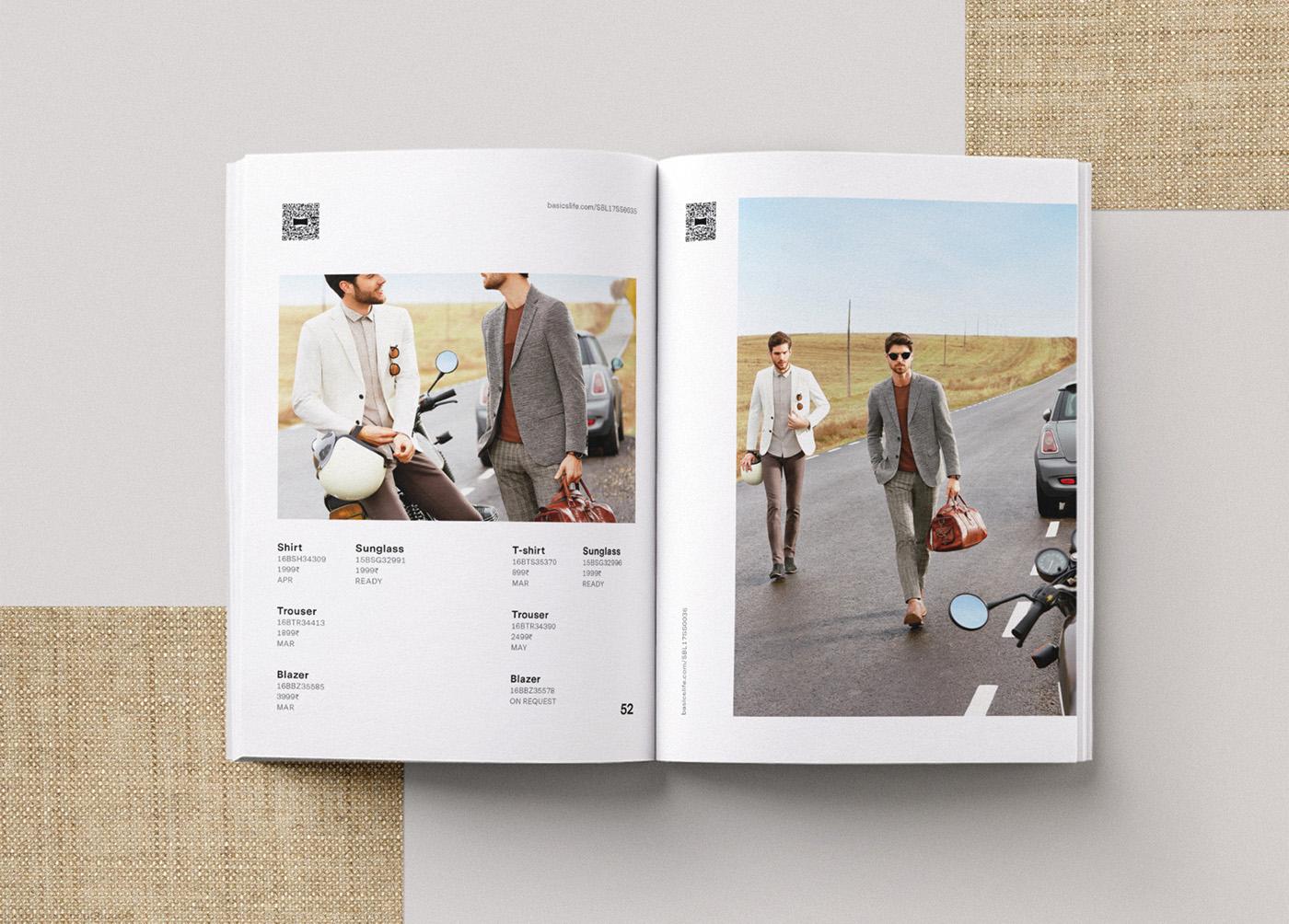 Basics spring catalog editorial design 7